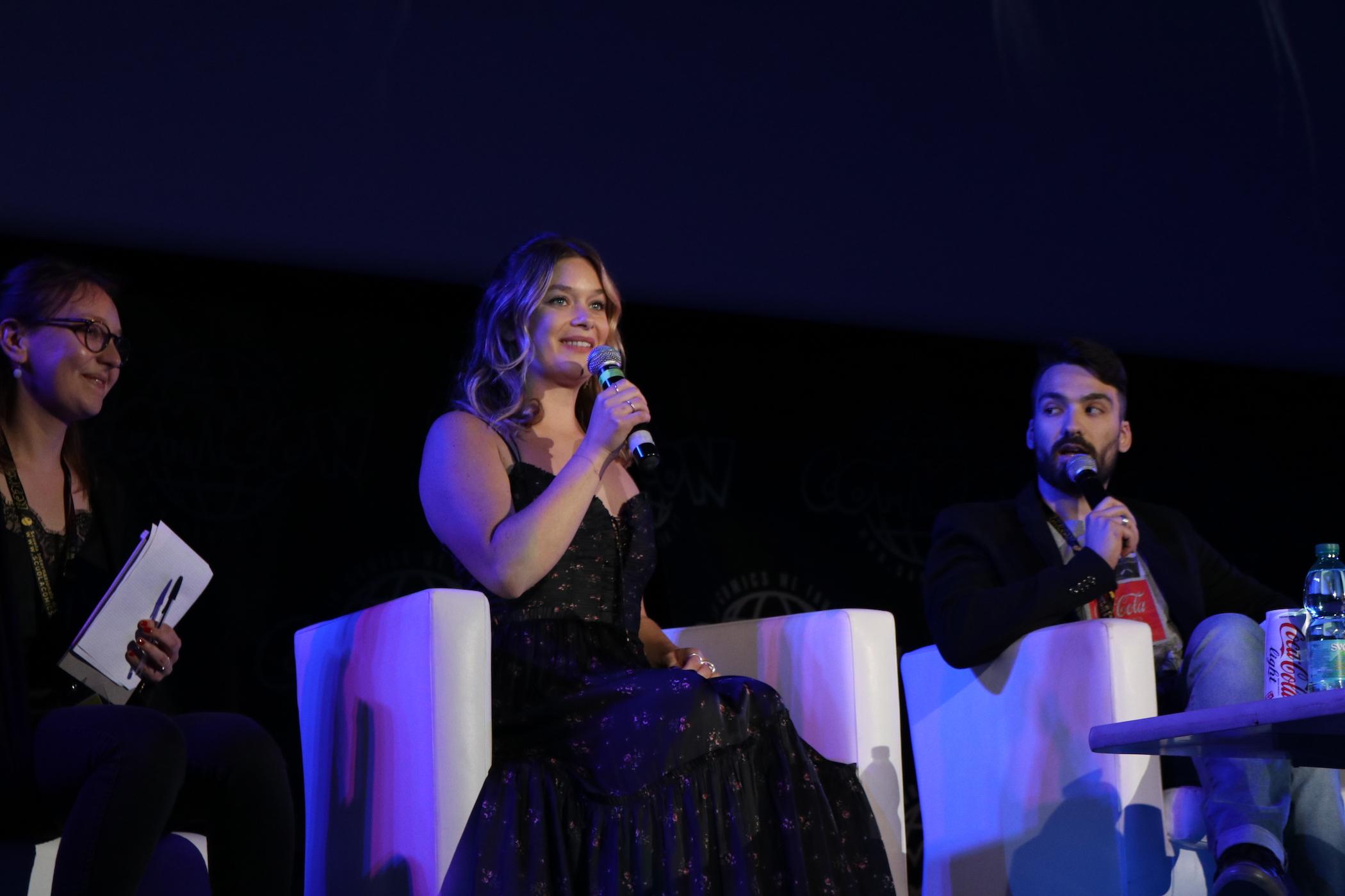 Comicon 2017: Rachel Keller risponde alle domande
