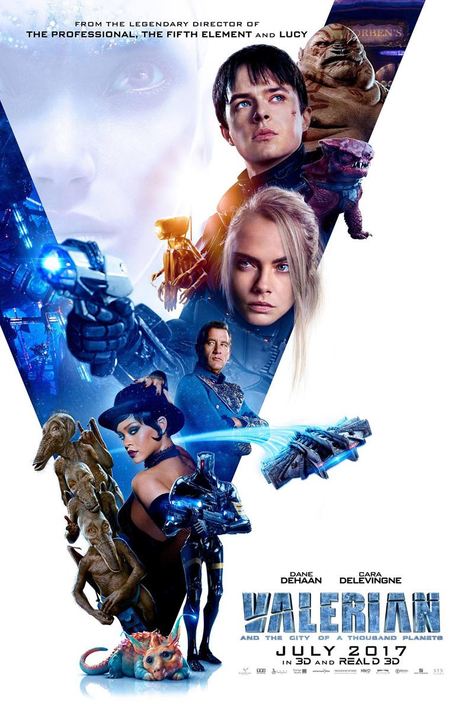 Valerian e la città dei mille pianeti: un poster del film