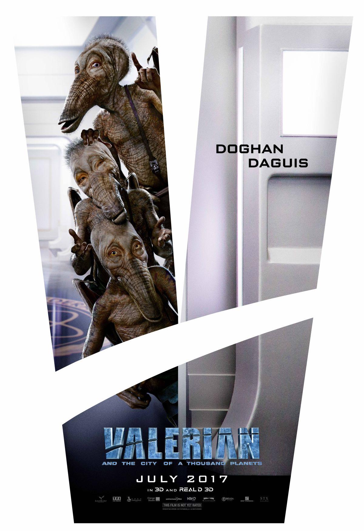Valerian e la città dei mille pianeti: il character poster dedicato a una delle creature