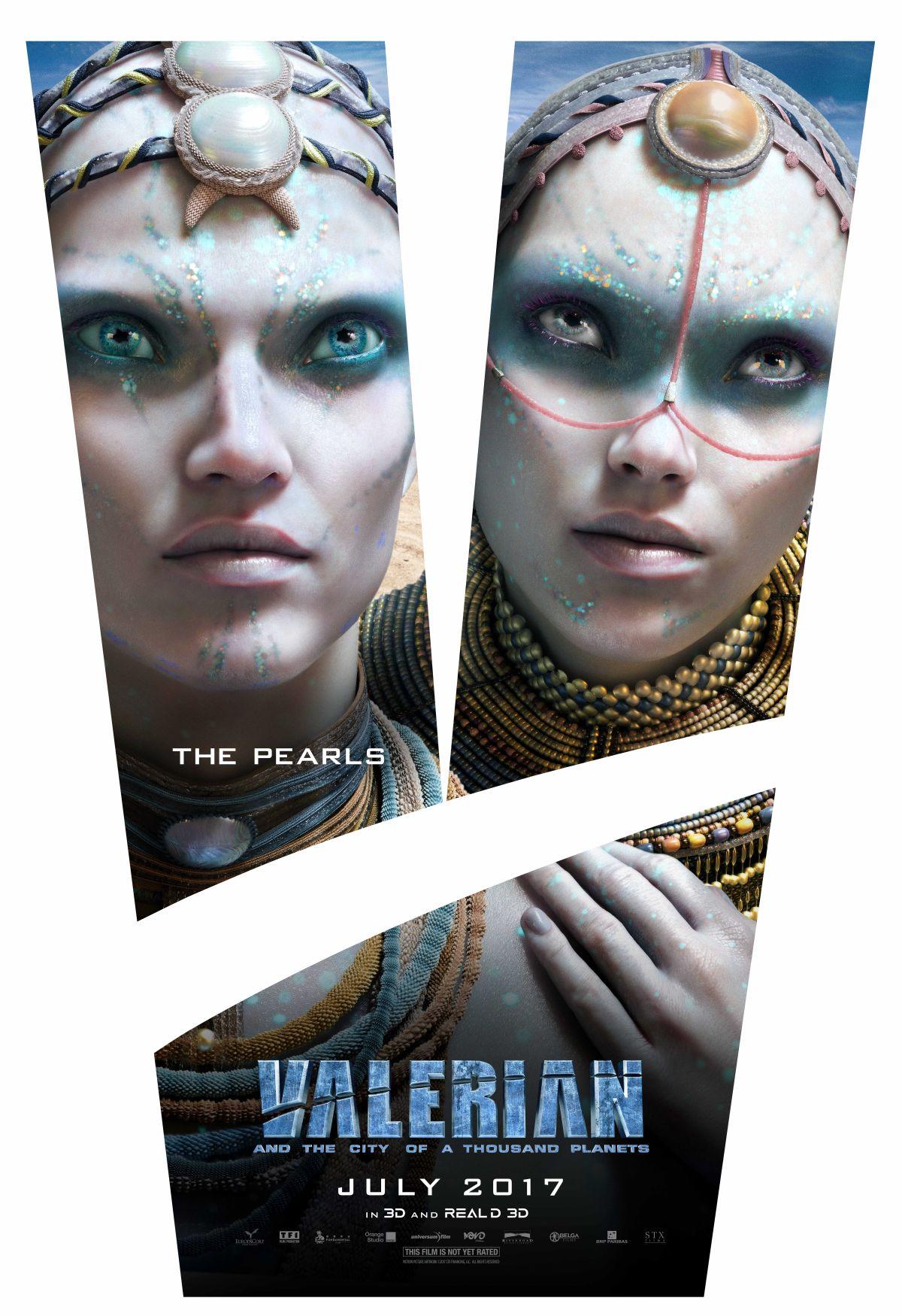 Valerian e la città dei mille pianeti: un character poster