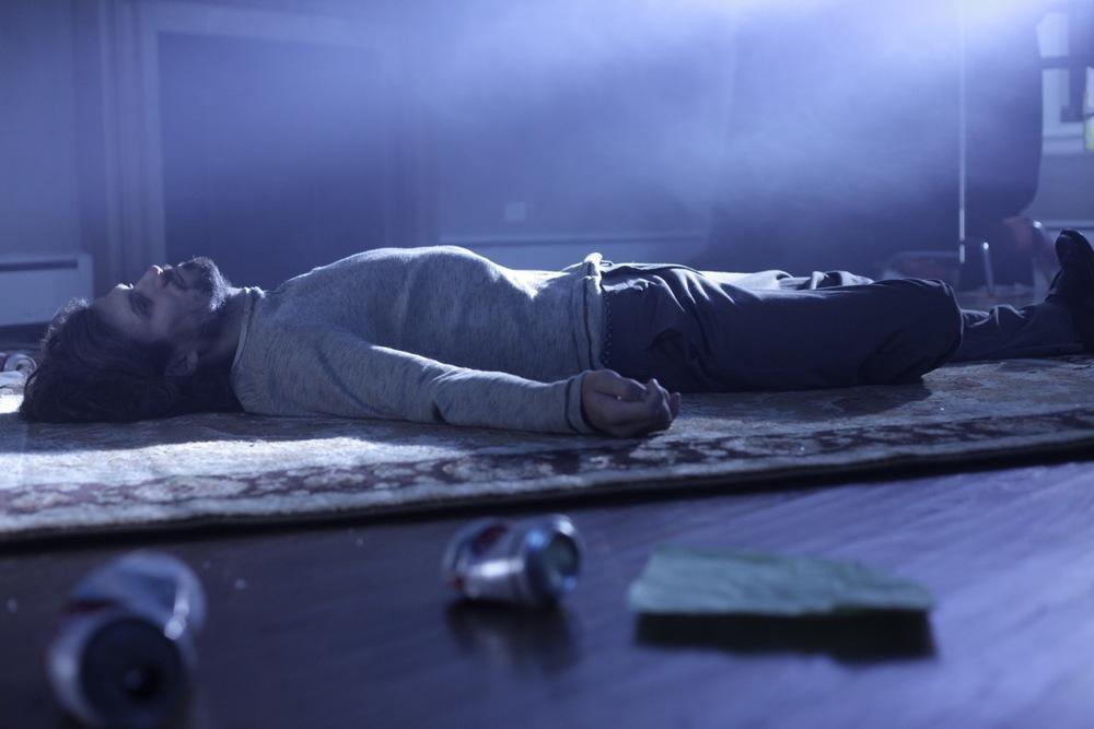 Alcolista: Bret Roberts in un momento del film