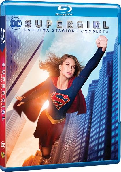 Il blu-ray di Supergirl - Stagione 1