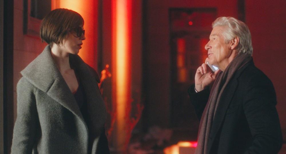The Dinner: Rebecca Hall e Richard Gere in una scena del film