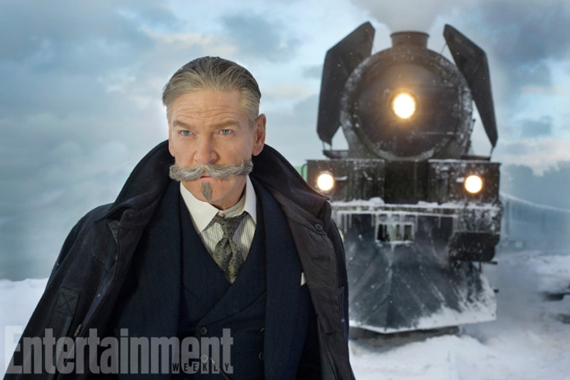 Assassinio sull'Orient Express: Kenneth Branagh in una foto del film