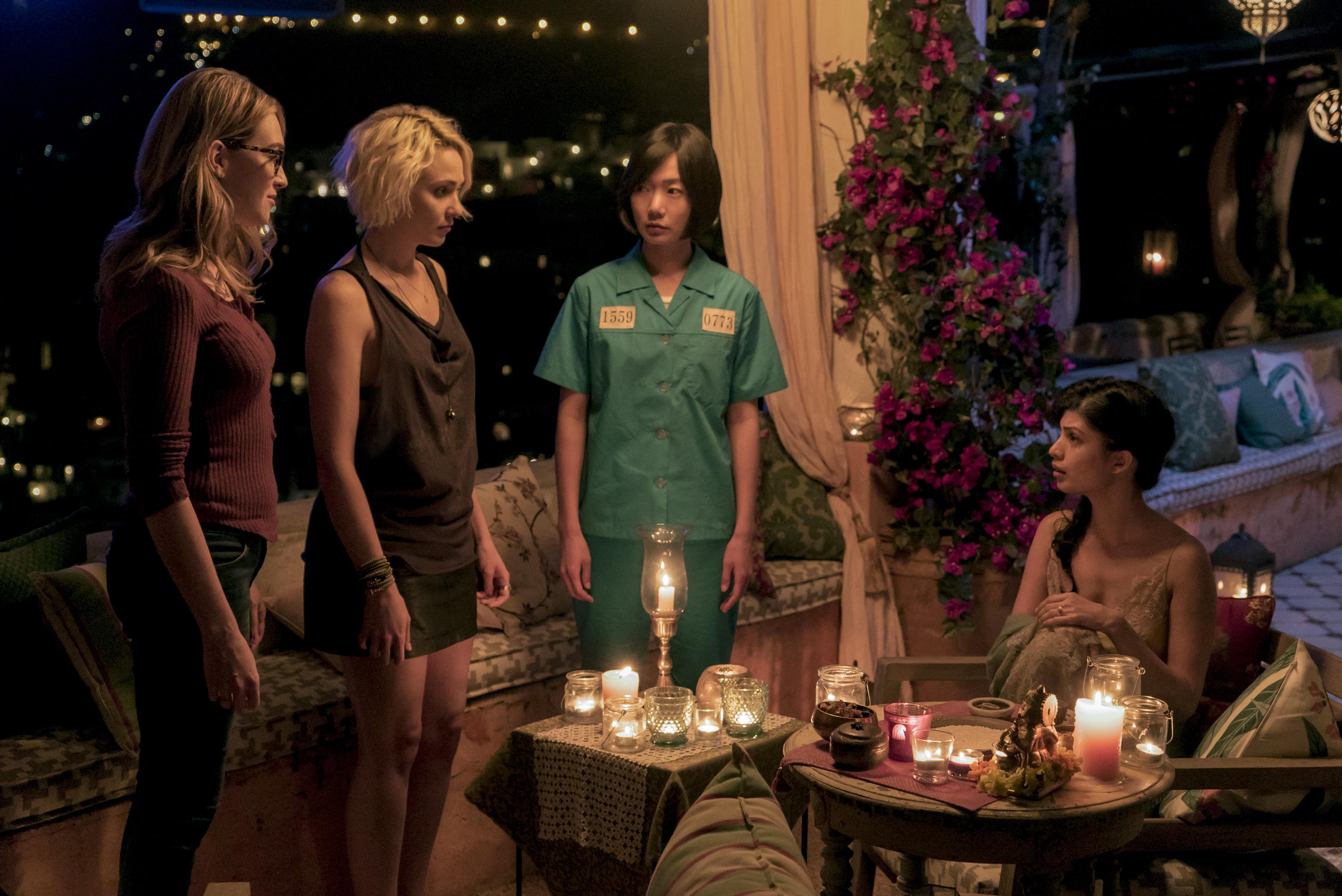Sense8: una scena di gruppo della seconda stagione