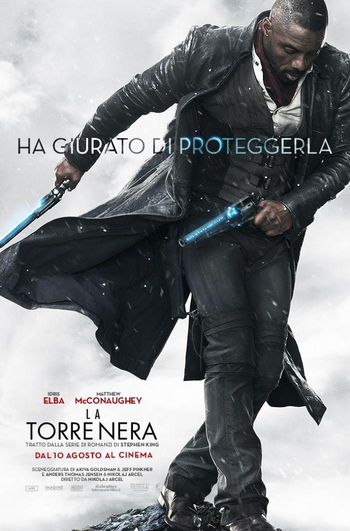 La Torre Nera: il character poster italiano di Idris Elba