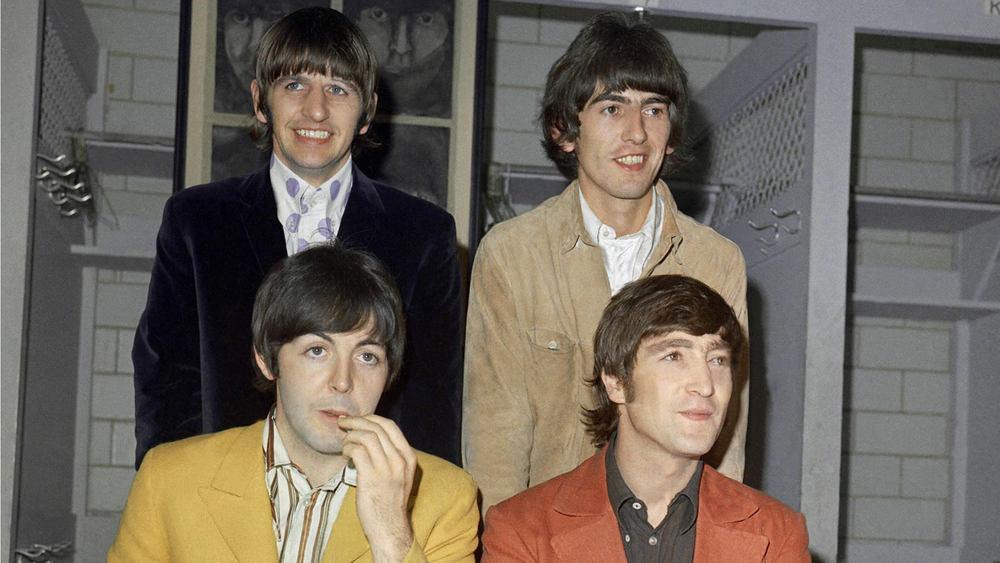 The Beatles: Sgt. Pepper and Beyond, il celebre gruppo inglese in un'immagine del documentario