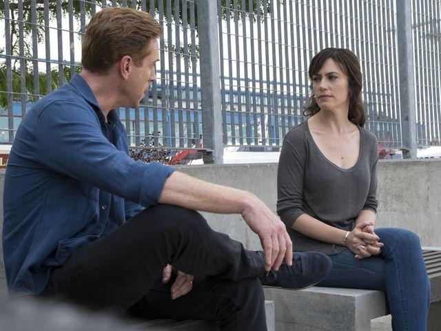 Billions: una scena con Maggie Siff e Damian Lewis