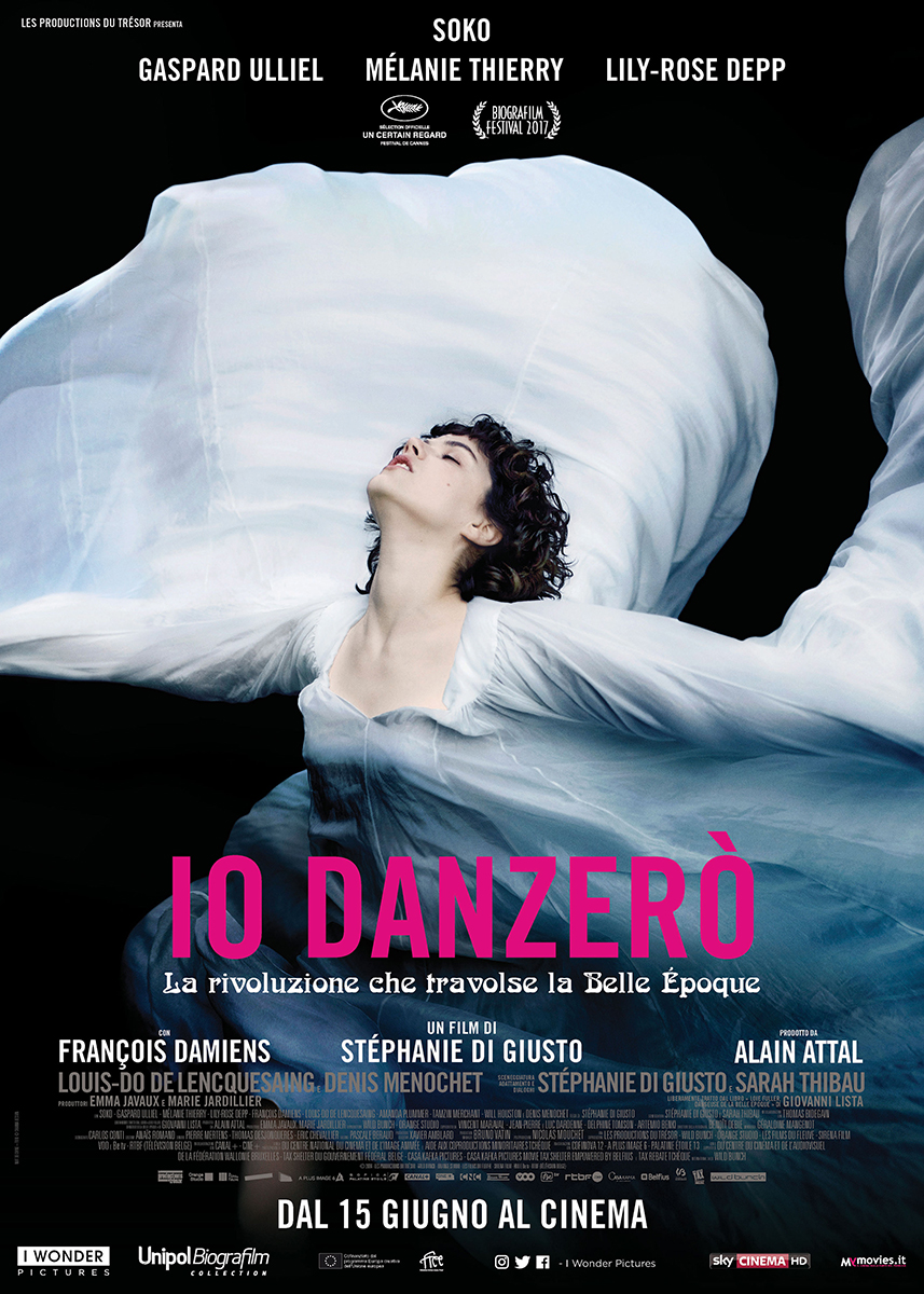 Io danzerò - poster italiano del film
