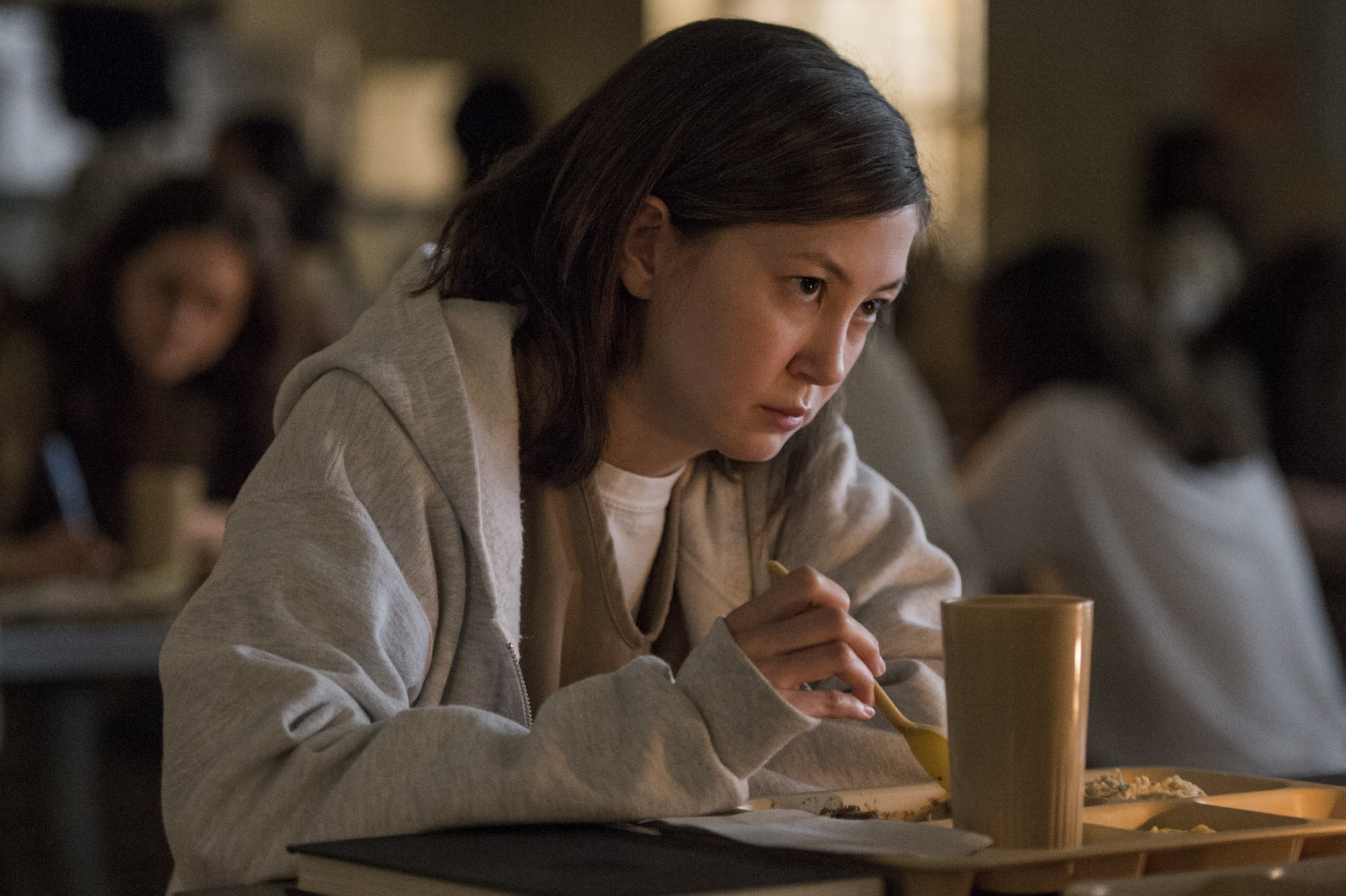 Orange Is The New Black: Kimiko Glenn in una foto della serie