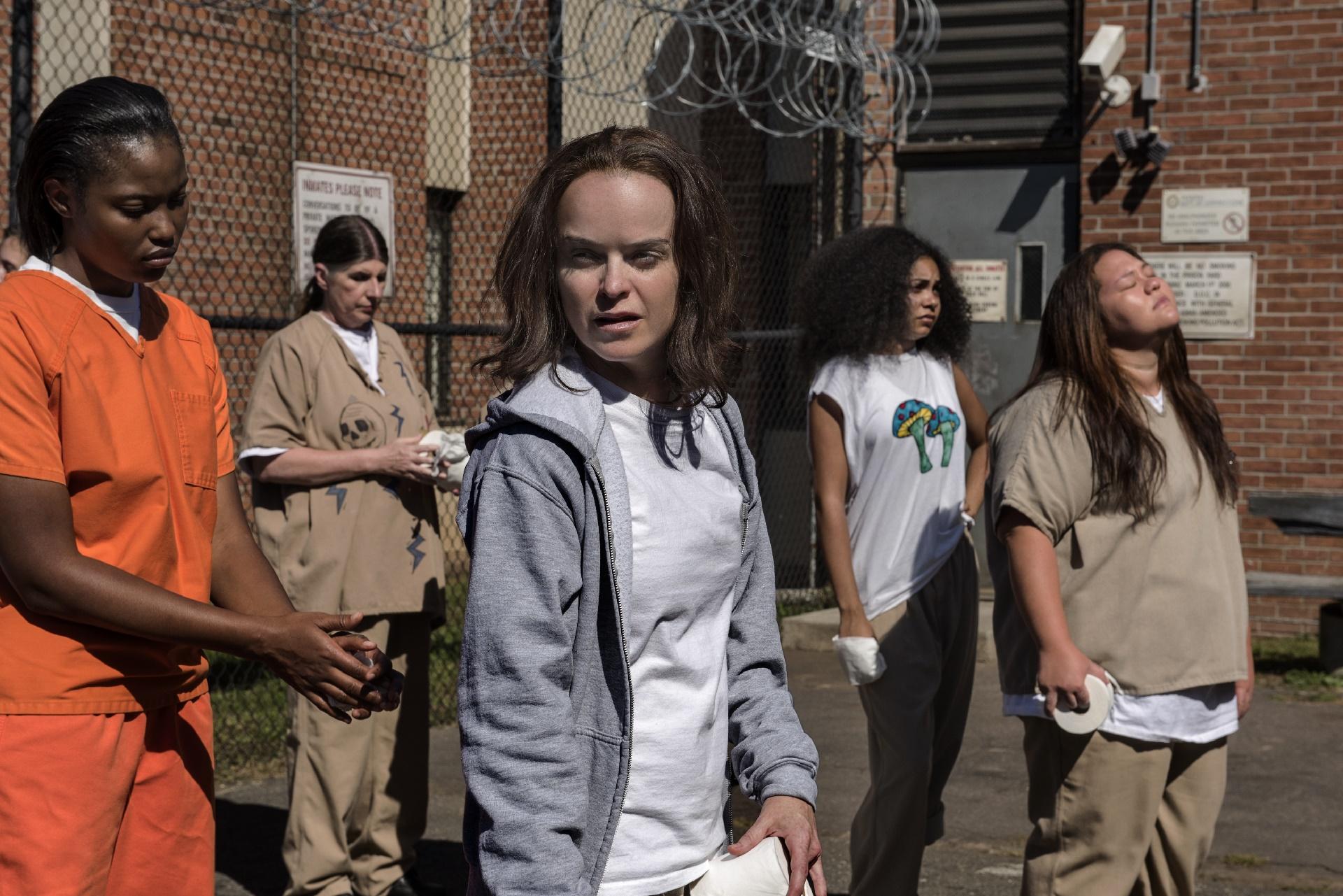 Orange Is The New Black: Taryn Manning in una foto della quinta stagione