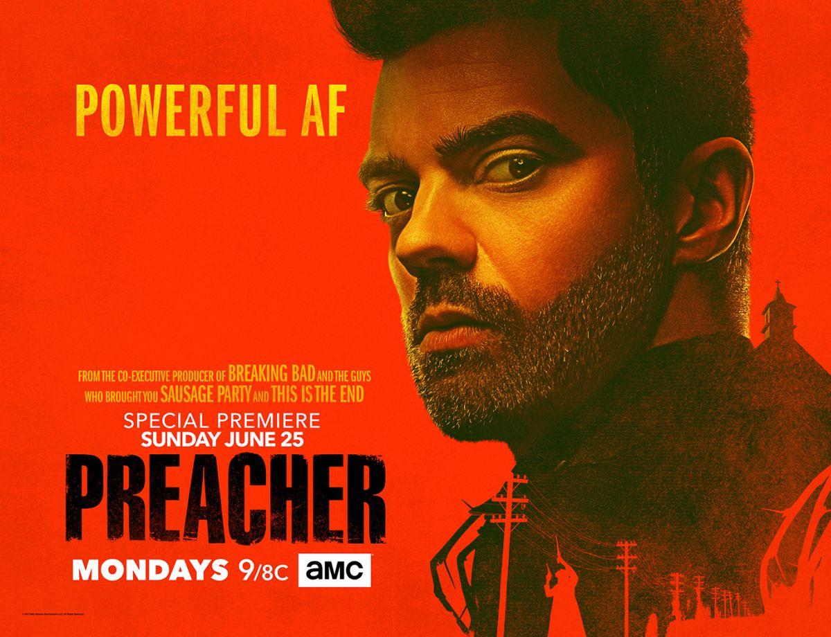 Preacher: un poster della stagione 2 dedicato a Dominic Cooper