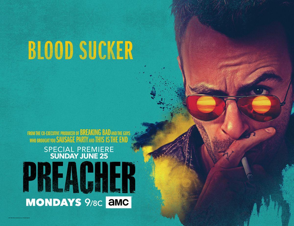 Preacher: un poster della stagione 2 dedicato a Joseph Gilgun