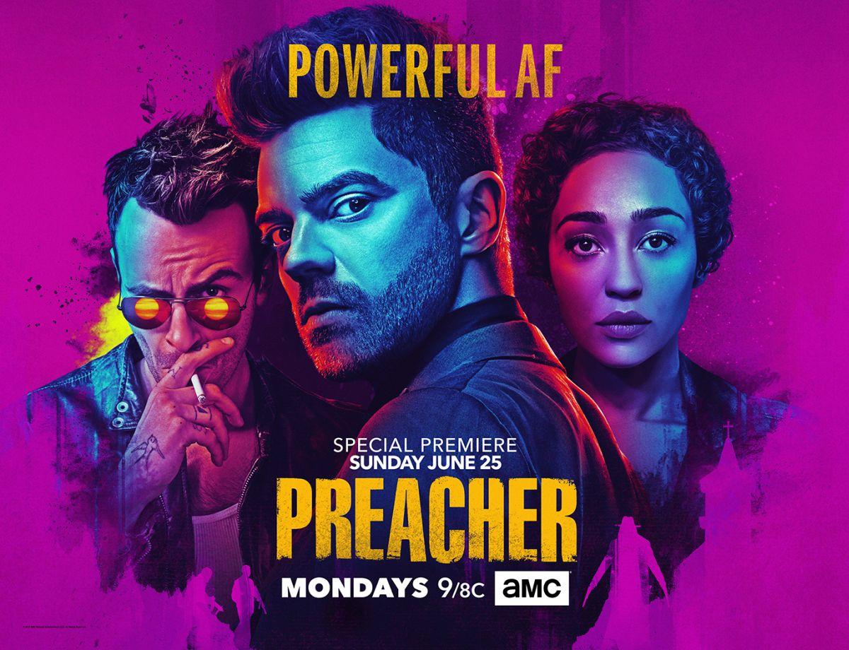 Preacher: un poster della stagione 2
