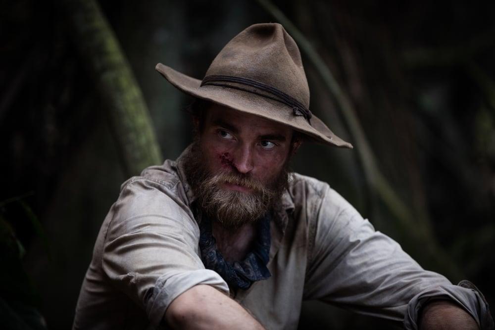 Civiltà perduta: Robert Pattinson in una scena del film