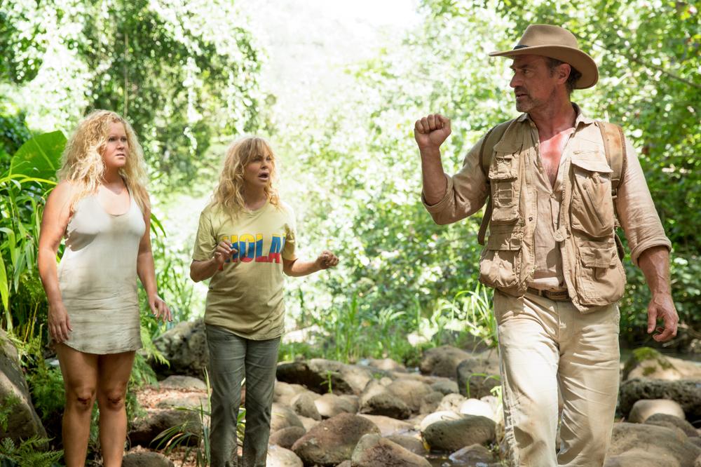 Fottute!: Amy Schumer, Goldie Hawn e Christopher Meloni in una scena del film