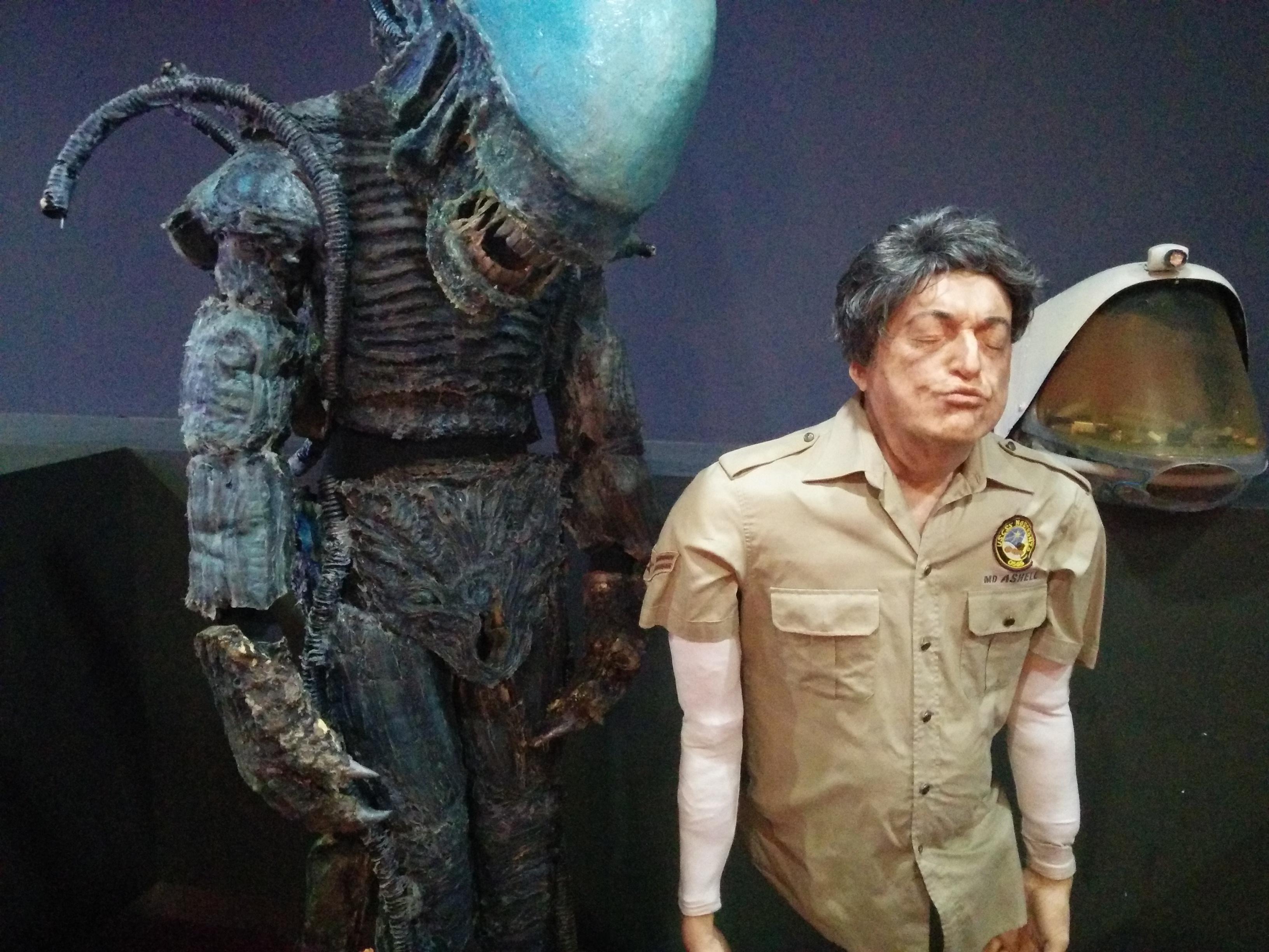 Aglien: le riproduzioni delle creature del film, l'alieno e Ashell