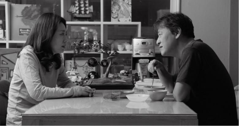 The Day After: Kwon Hae-hyo e Kim Sae-byuk in una scena del film