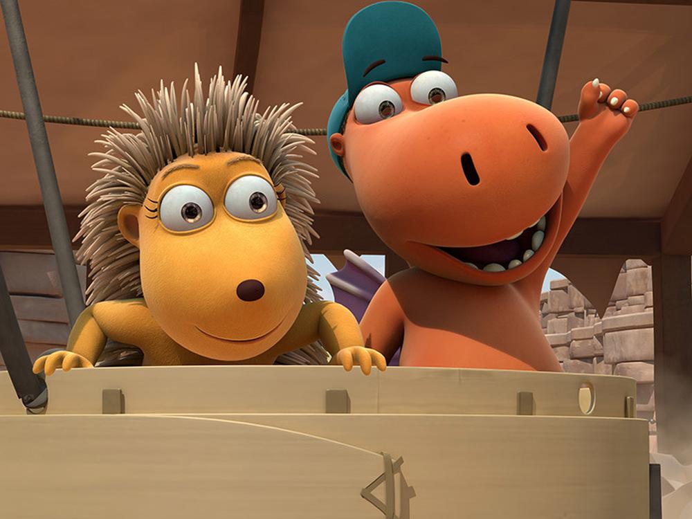 Nocedicocco - Il piccolo drago: un'immagine del film animato