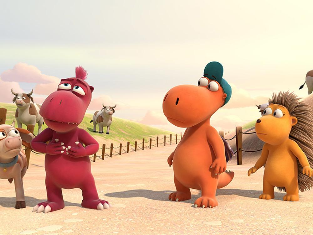 Nocedicocco - Il piccolo drago: una scena del film d'animazione
