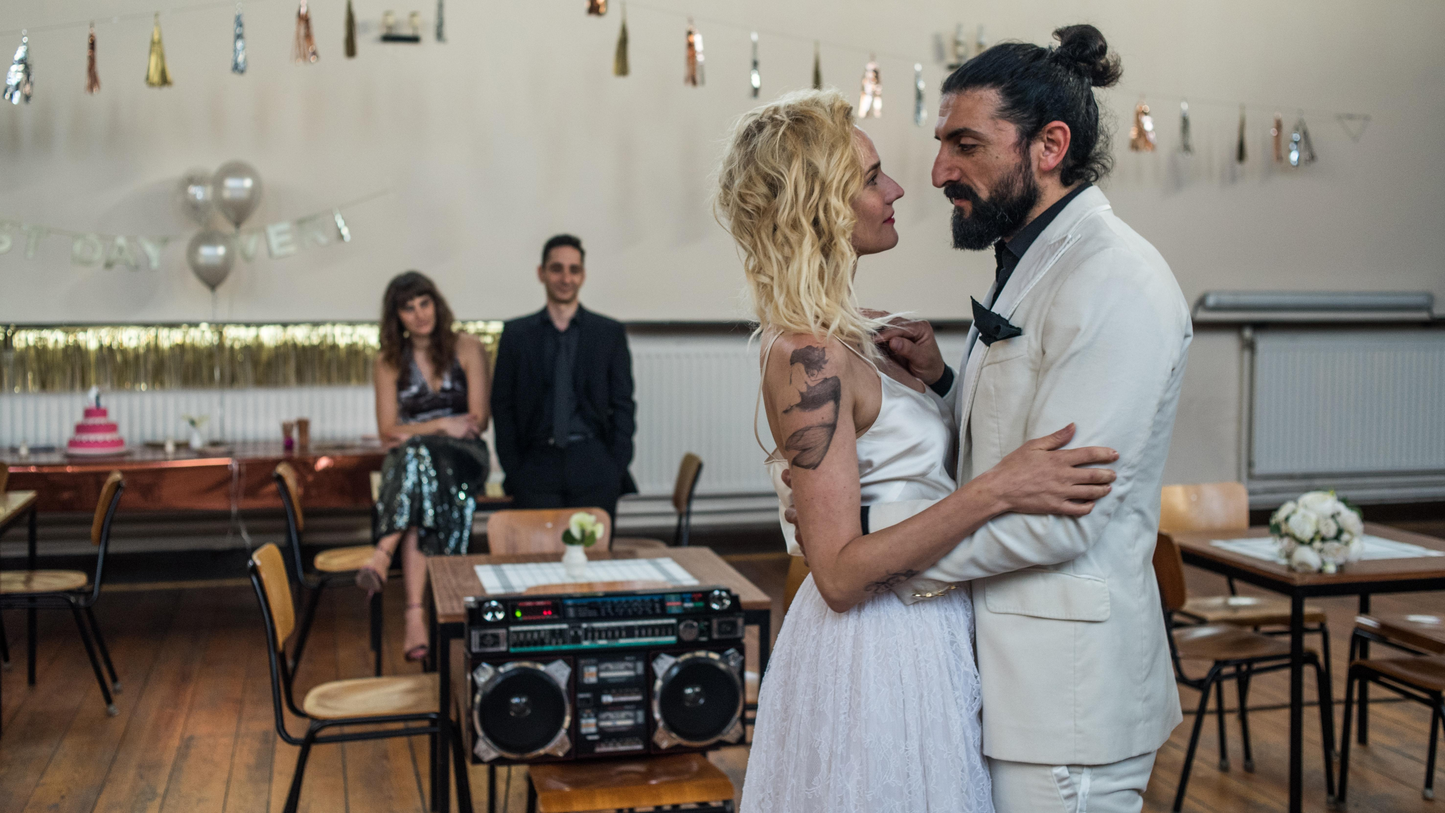 In the Fade: Diane Kruger e Numan Acar ballano