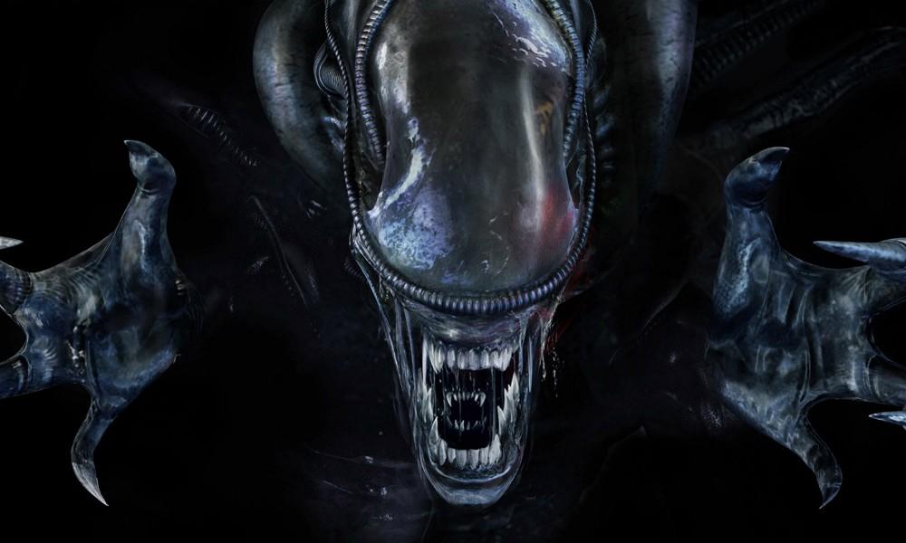 Alien - Covenant: primo piano dello Xenomorfo