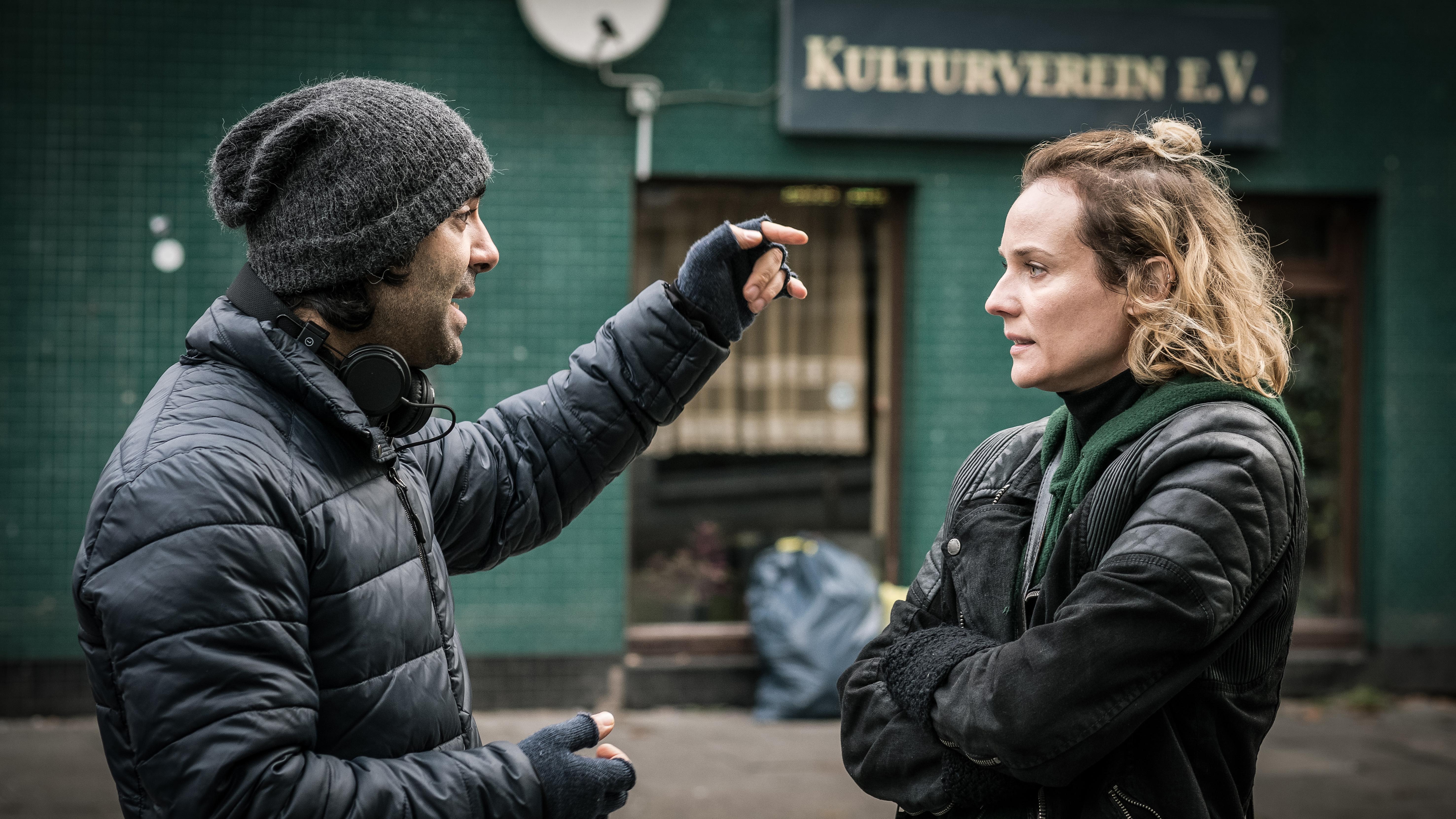 In the Fade: Diane Kruger col regista Fatih Akin