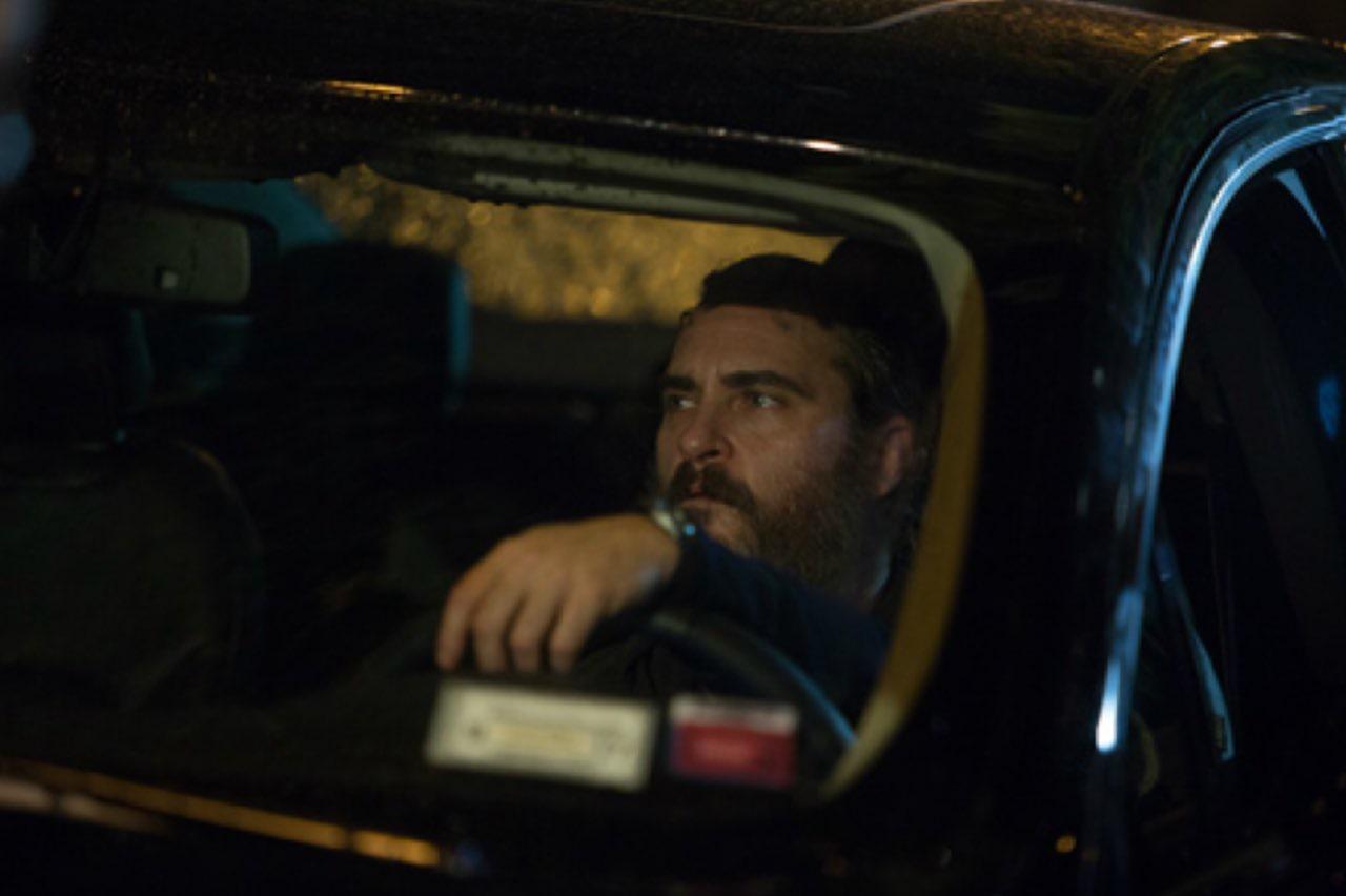 You Were Never Really Here: Joaquin Phoenix in una scena del film