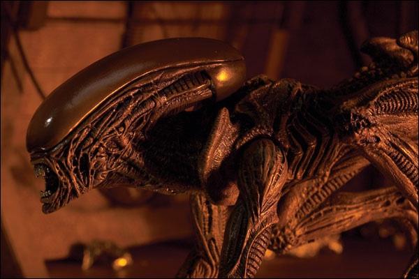 Alien 3: xenomorfo runner