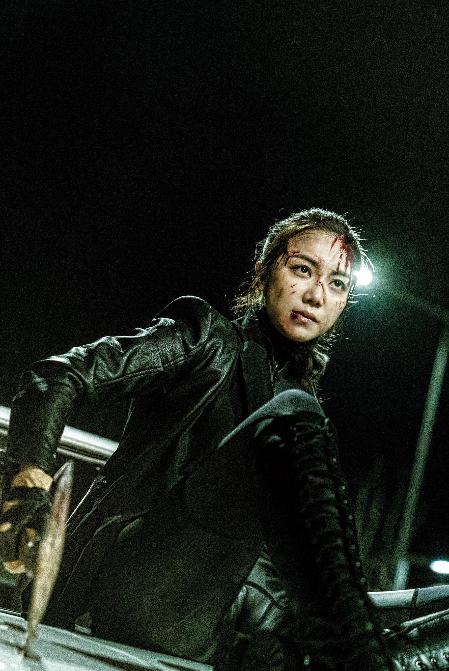 The Villainess: Ok-bin Kim in una scena del film