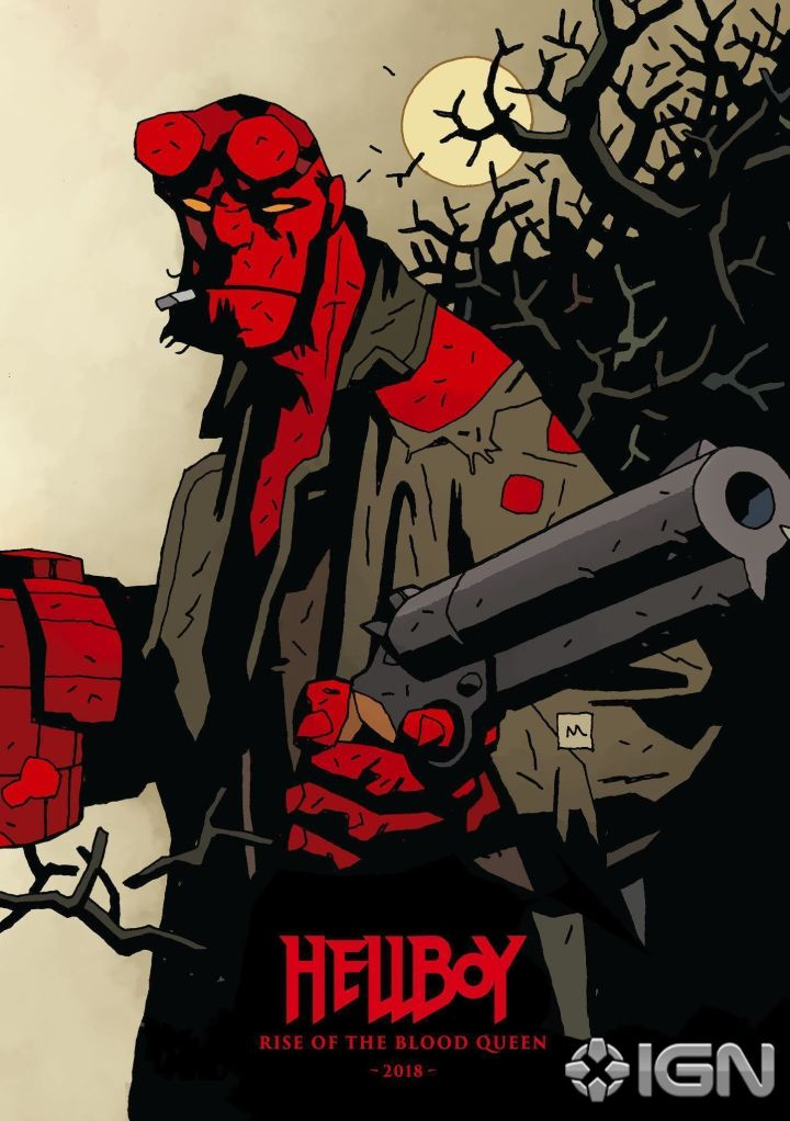 Hellboy: Rise of the Blood Queen - Un'immagine promozionale del film