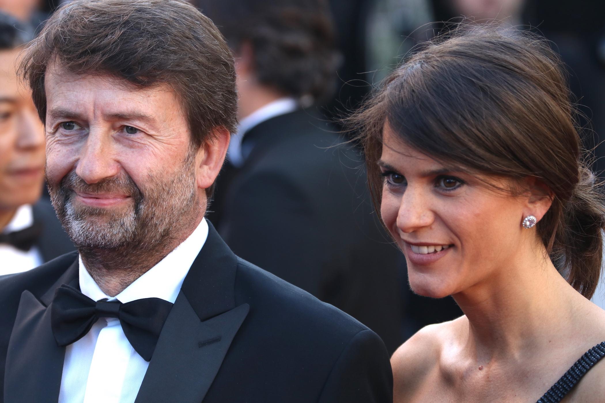 Cannes 2017: Dario Franceschini e sua moglie sul red carpet inaugurale