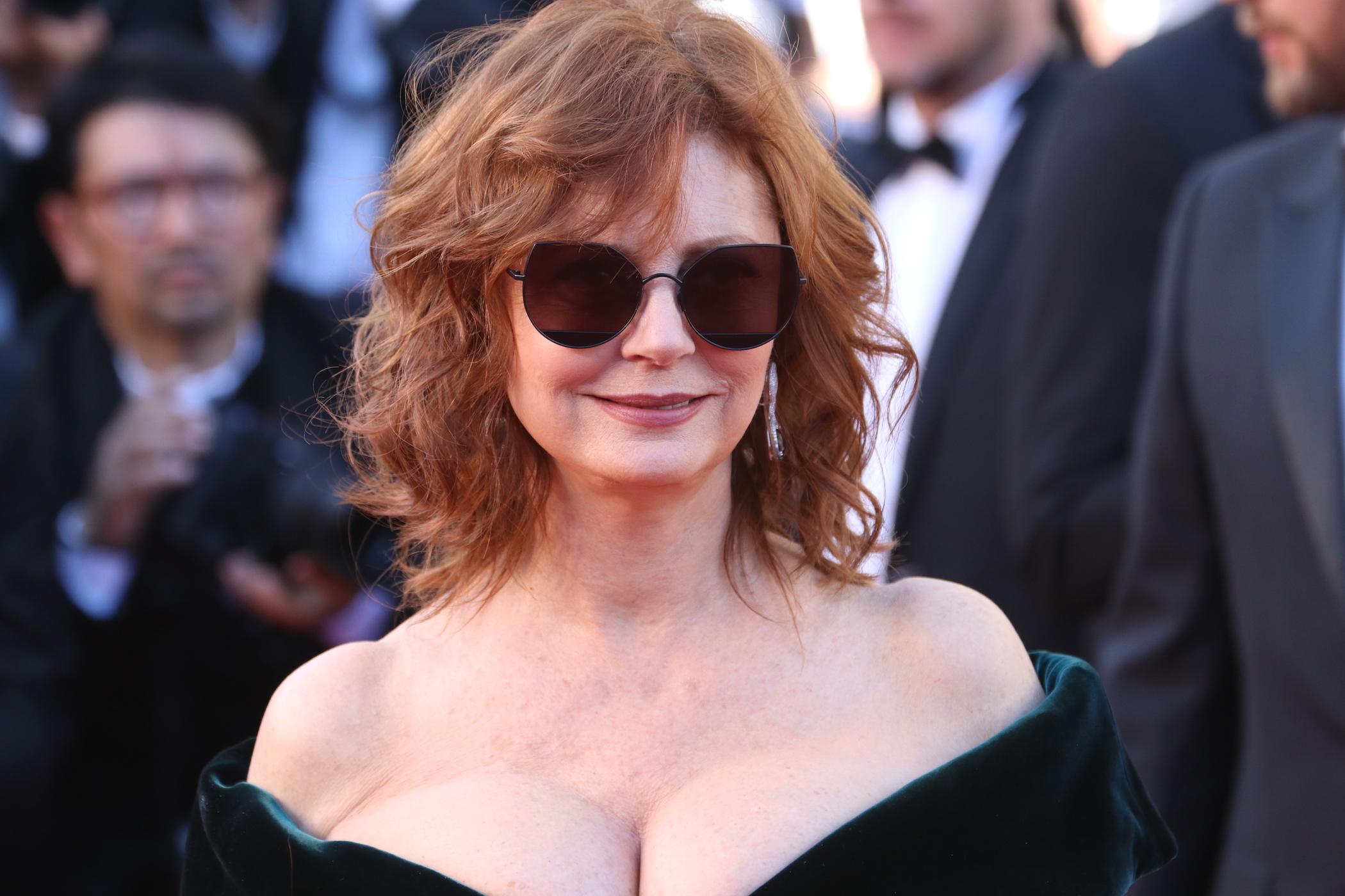 Cannes 2017: Susan Sarandon sul red carpet inaugurale