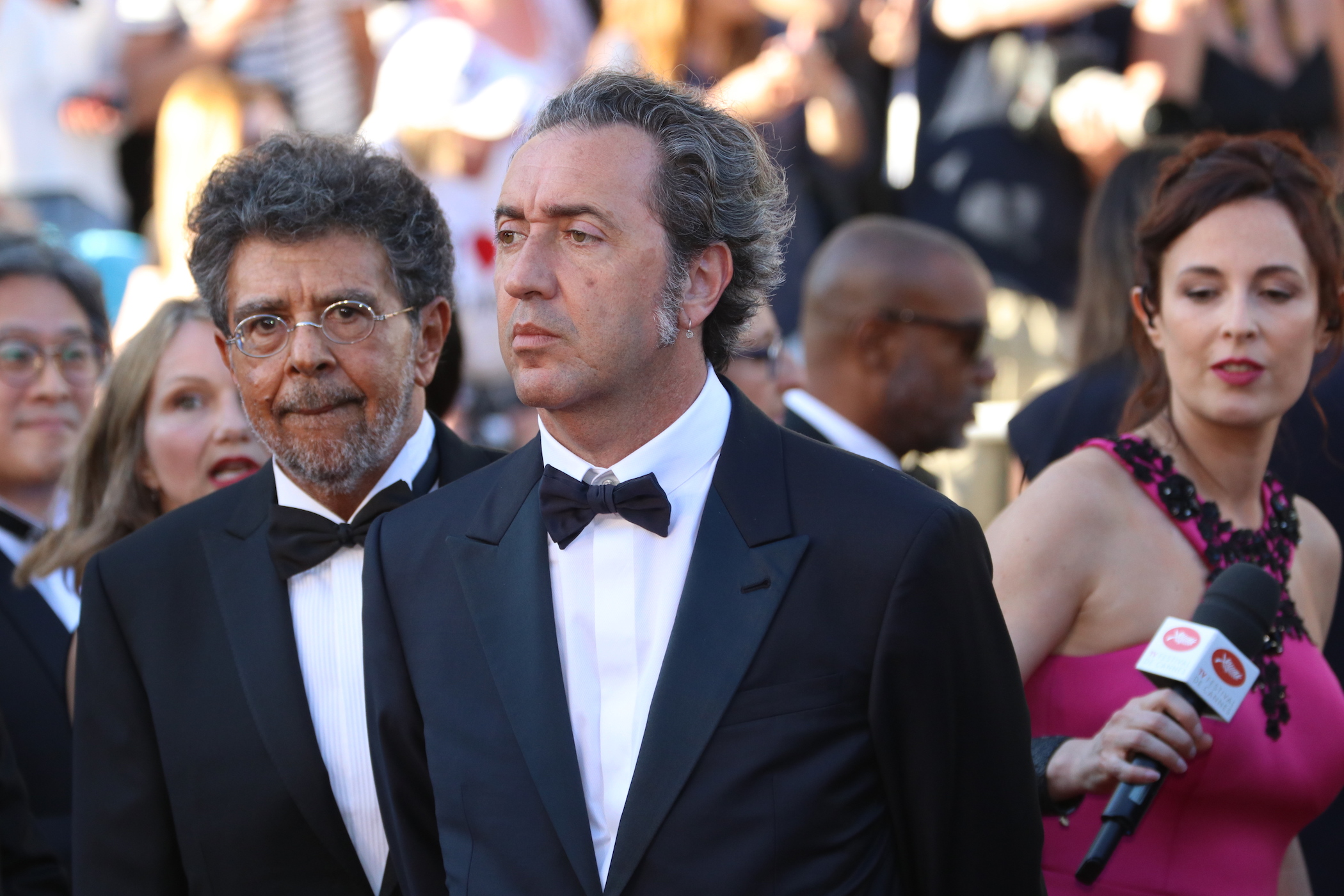 Cannes 2017: Paolo Sorrentino sul red carpet inaugurale