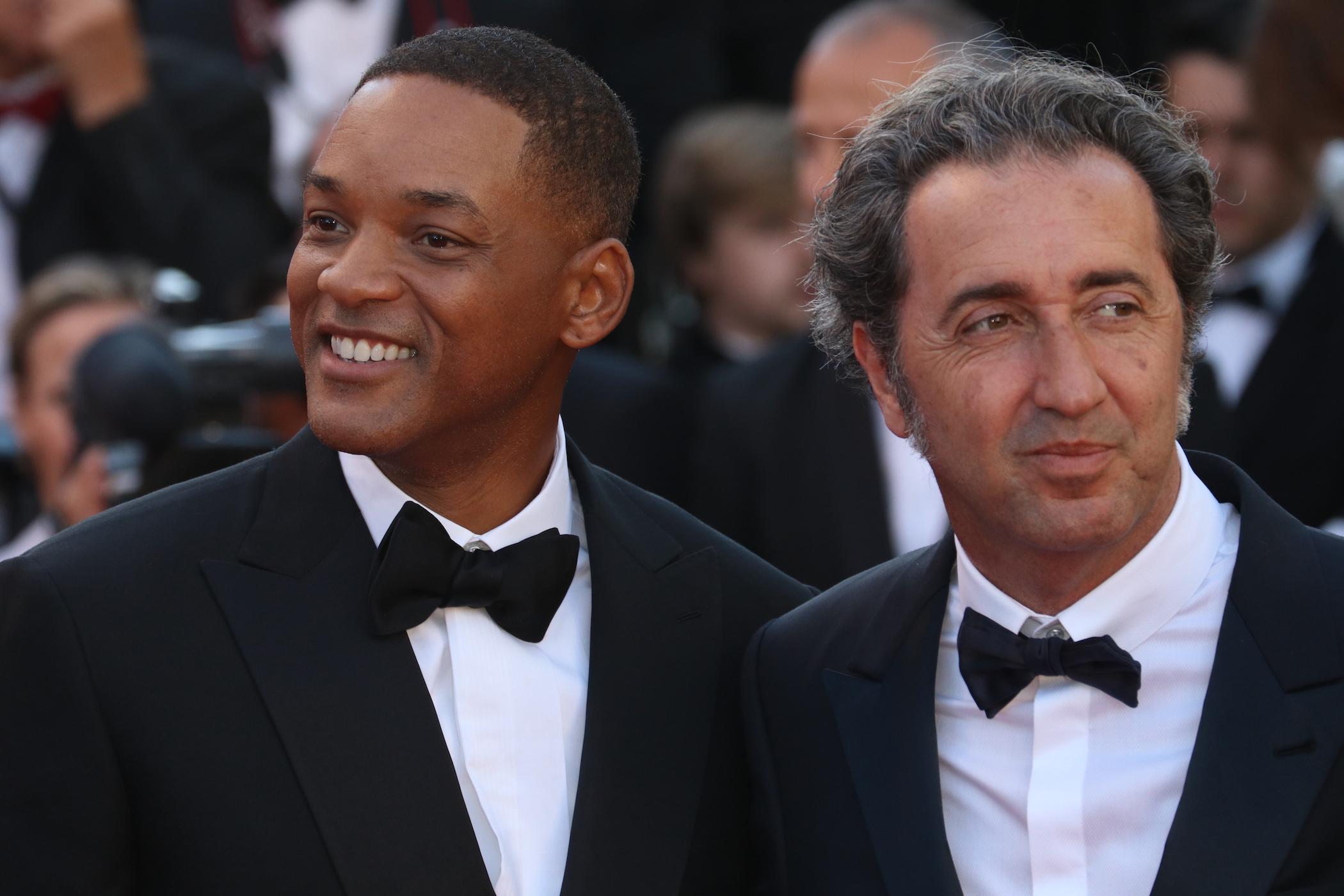 Cannes 2017: Will Smith e Paolo Sorrentino sul red carpet inaugurale