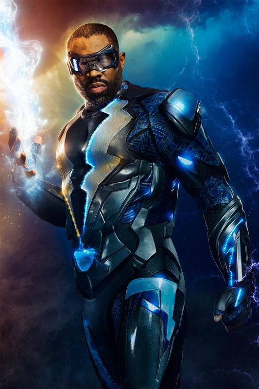 Black Lightning: il poster della serie