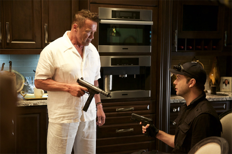 Why We're Killing Gunther: Arnold Schwarzenegger in una foto del film