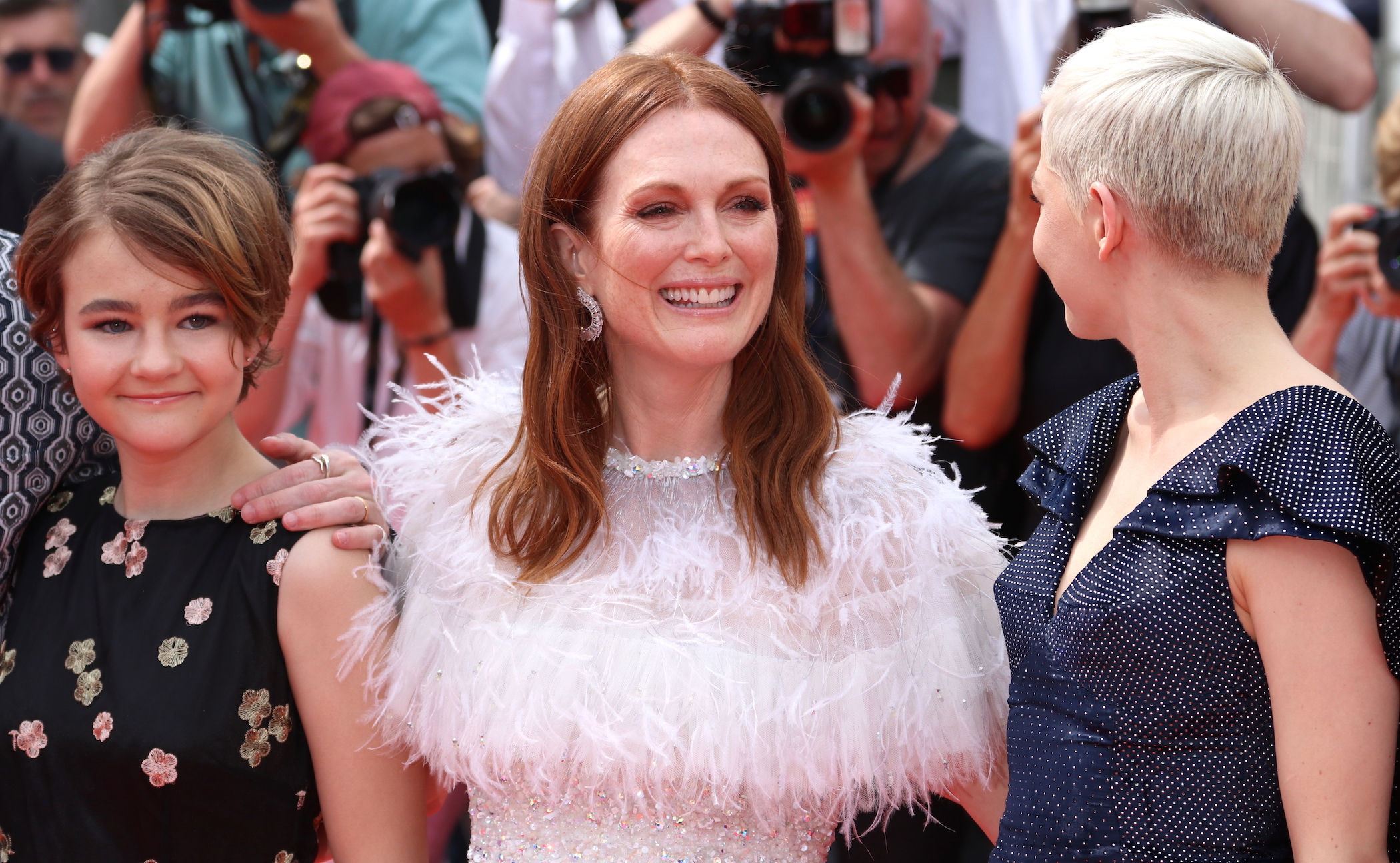 Cannes 2017: Julianne Moore e Michelle Williams sul red carpet di Wonderstruck