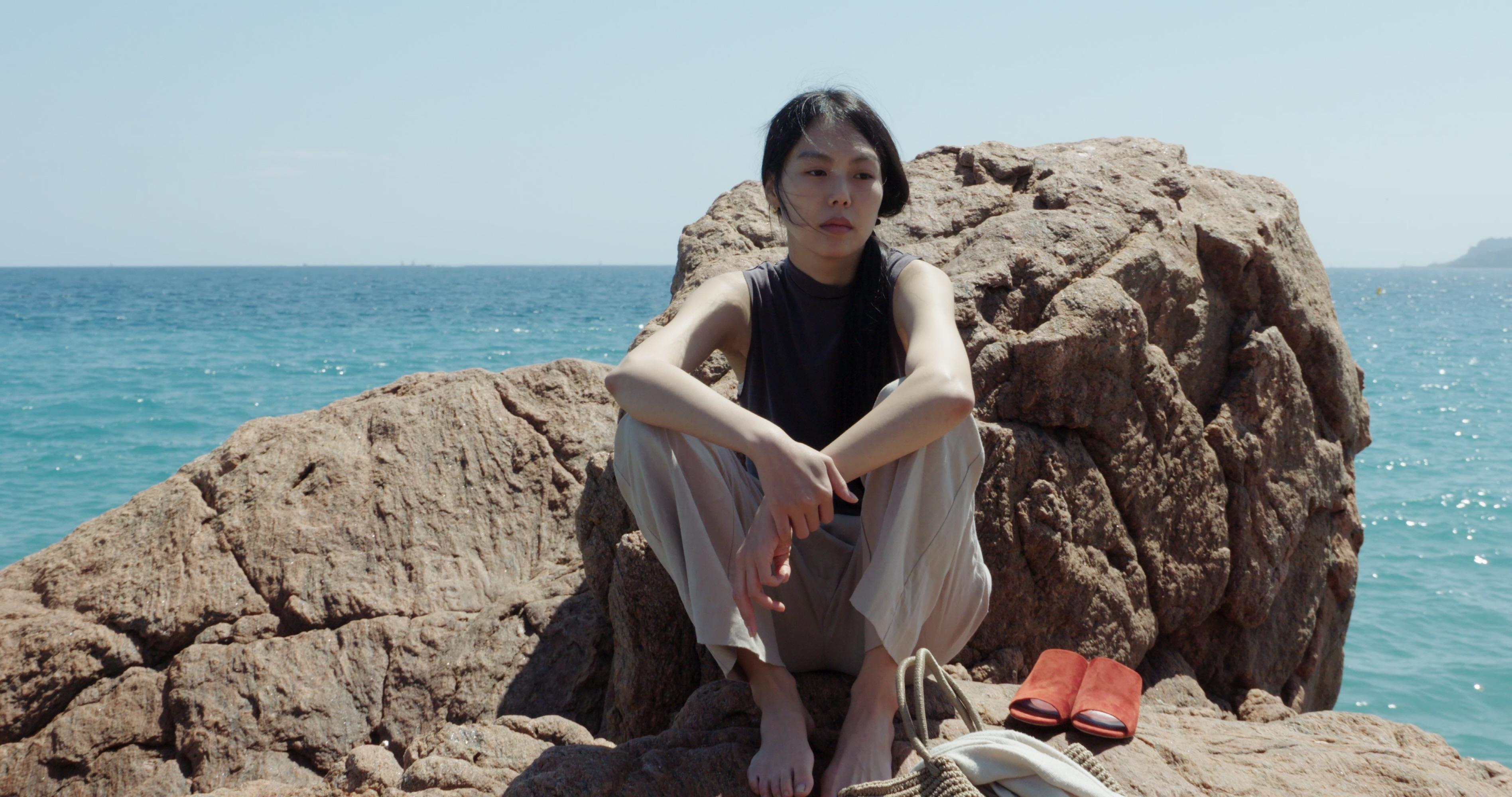 Claire's Camera:Kim Min-hee in una scena