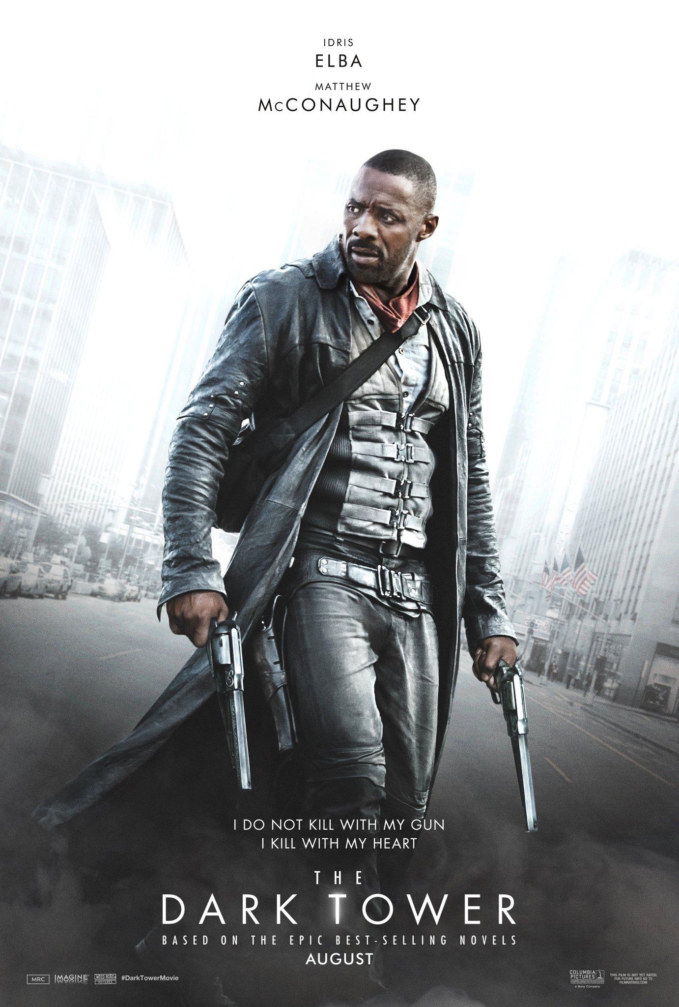 The Dark Tower: il poster con Idris Elba