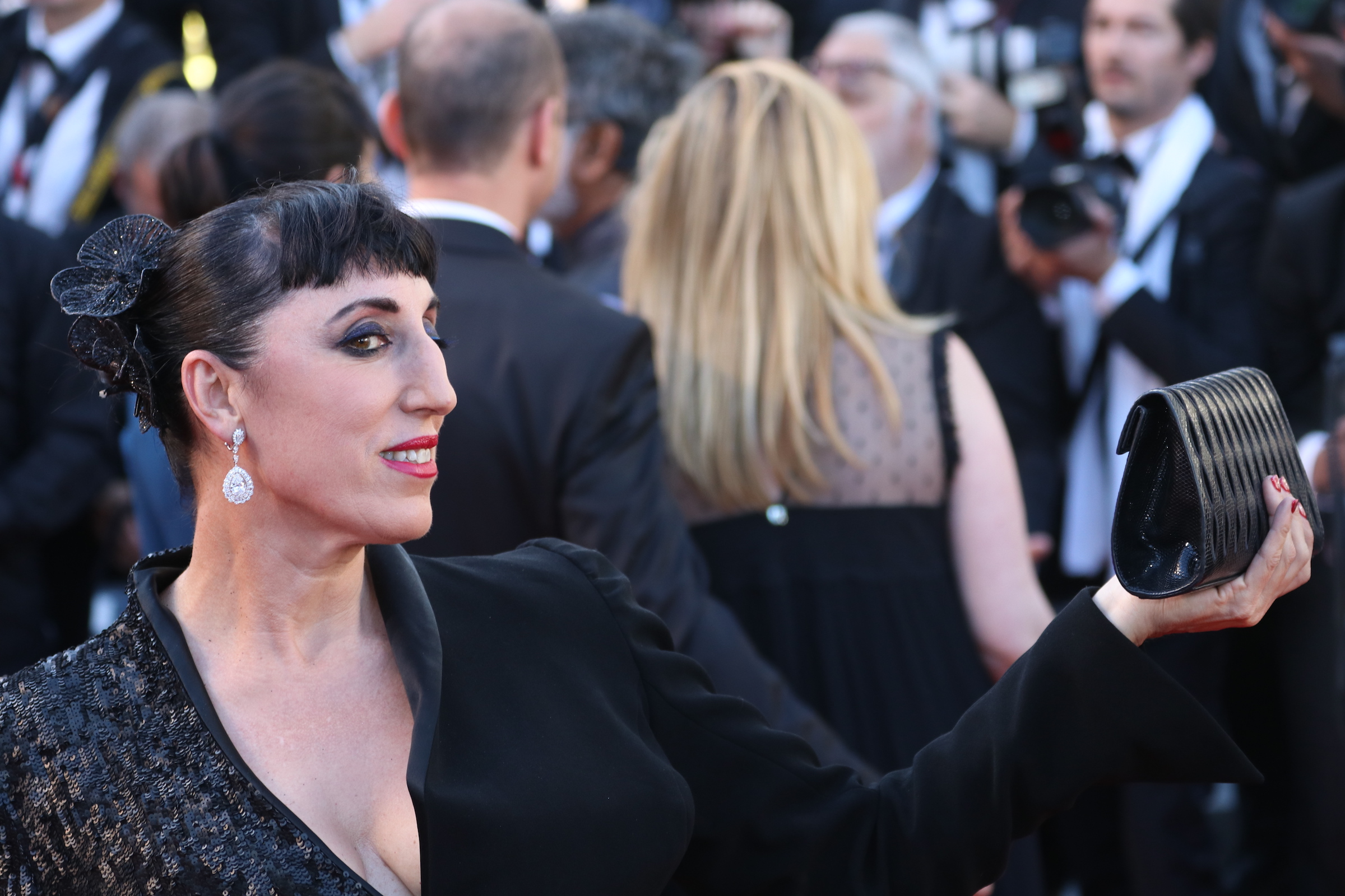 Cannes 2017: Rossy de Palma sul red carpet di Okja