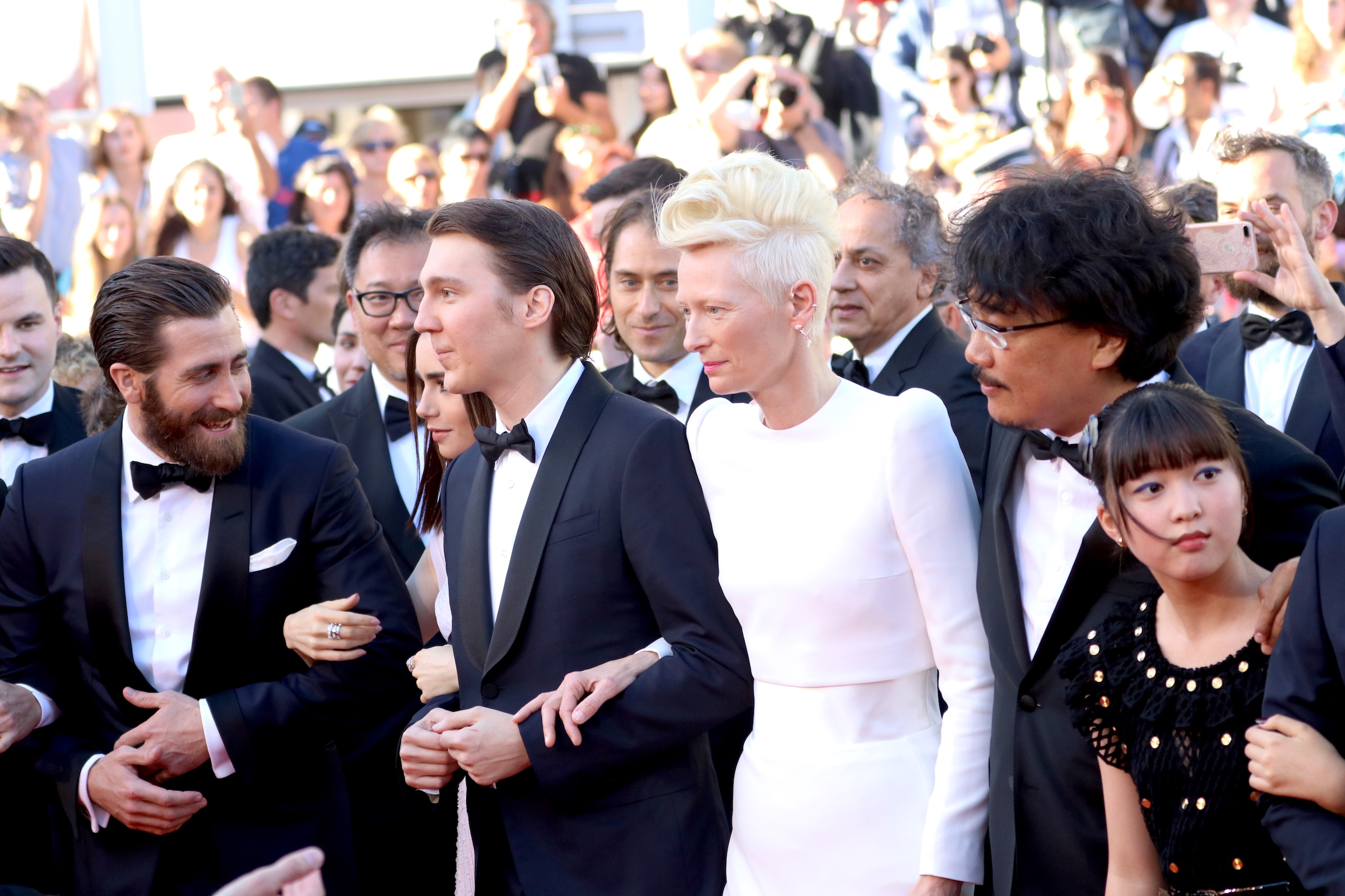 Cannes 2017: Il cast arriva sul red carpet di Okja