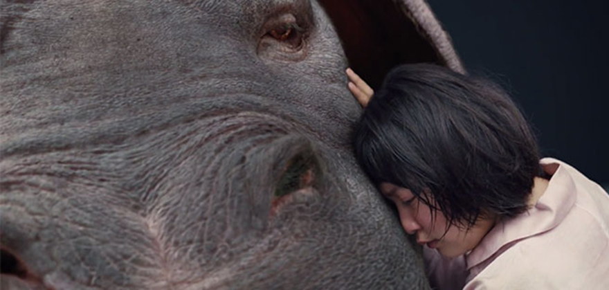 Okja, una scena del film