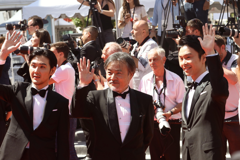 Cannes 2017: Kiyoshi Kurosawa e Ryuhei Masuda sul red carpet di Before We Vanish