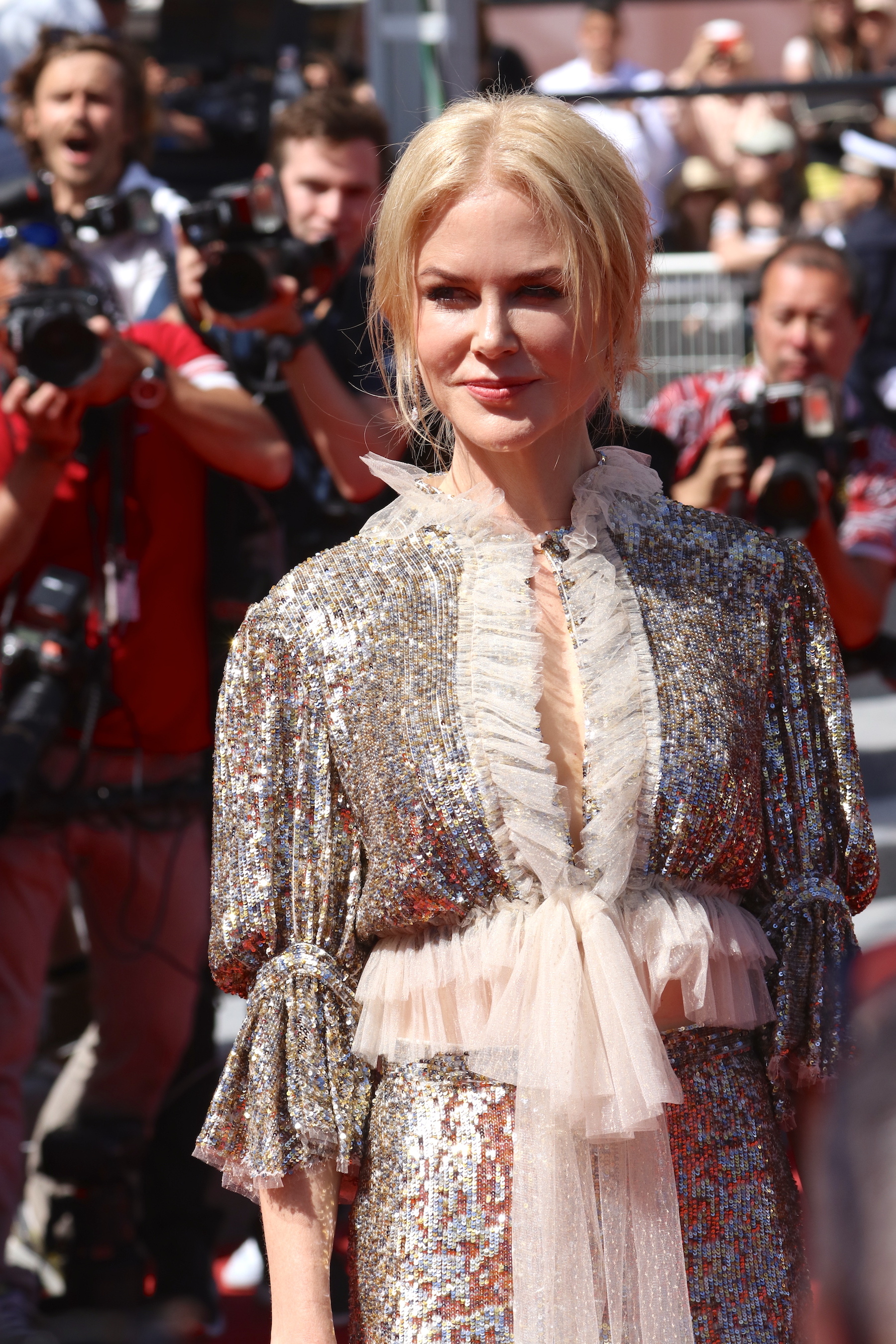 Cannes 2017: uno scatto di Nicole Kidman sul red carpet di How to Talk to Girls at Parties