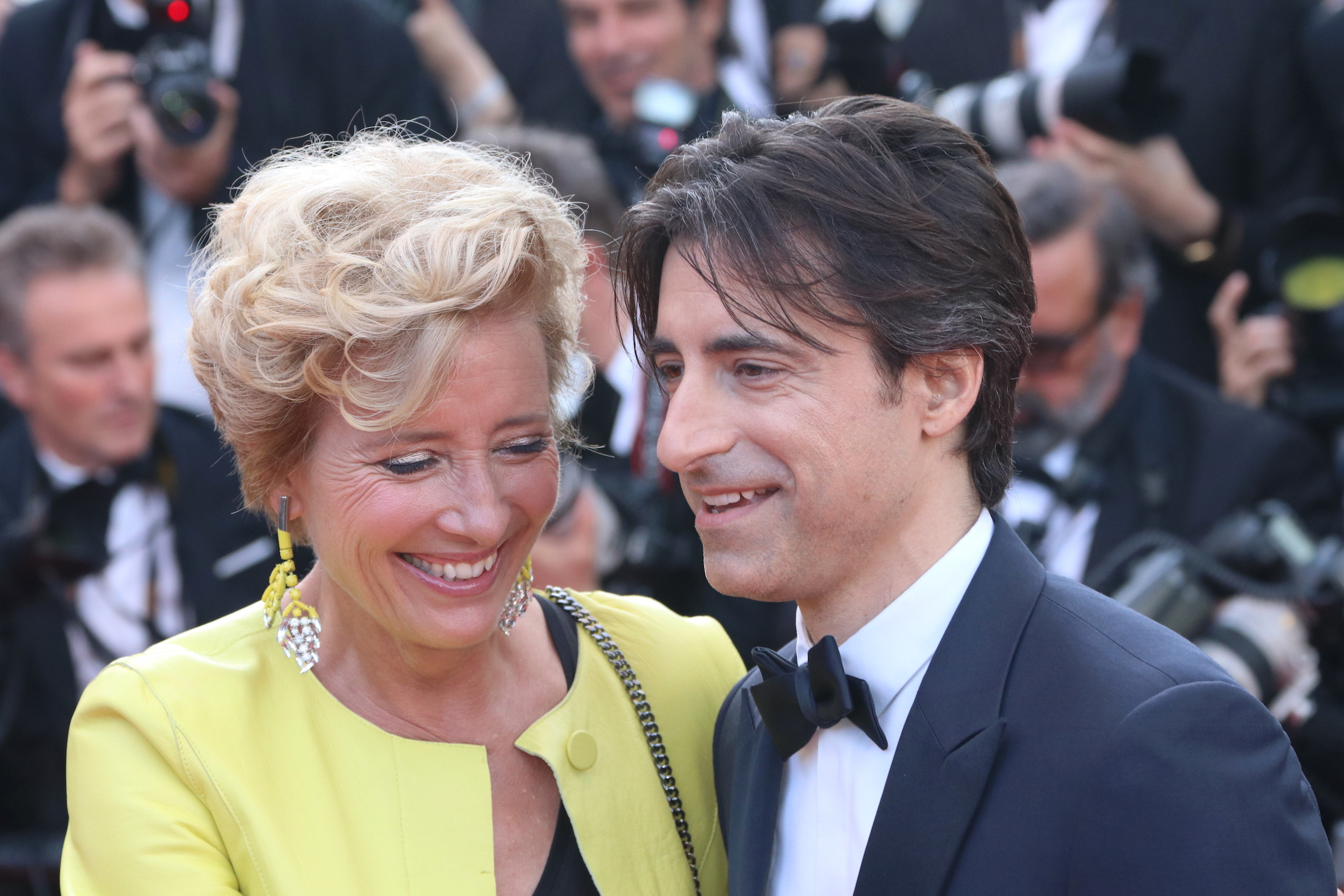 Cannes 2017: Noah Baumbach ed Emma Thompson sul red carpet di The Meyerowitz Stories