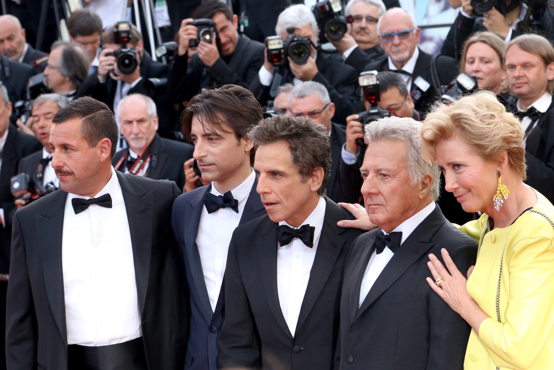 Cannes 2017: il cast sul red carpet di The Meyerowitz Stories