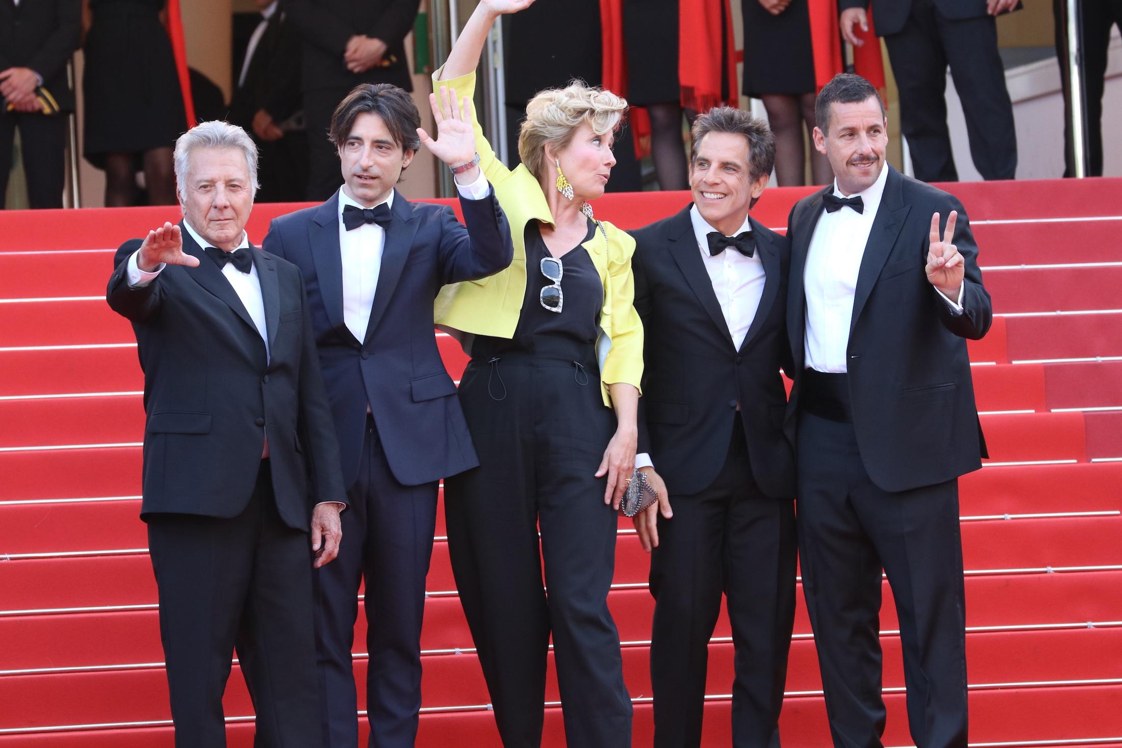 Cannes 2017: il cast saluta sul red carpet di The Meyerowitz Stories