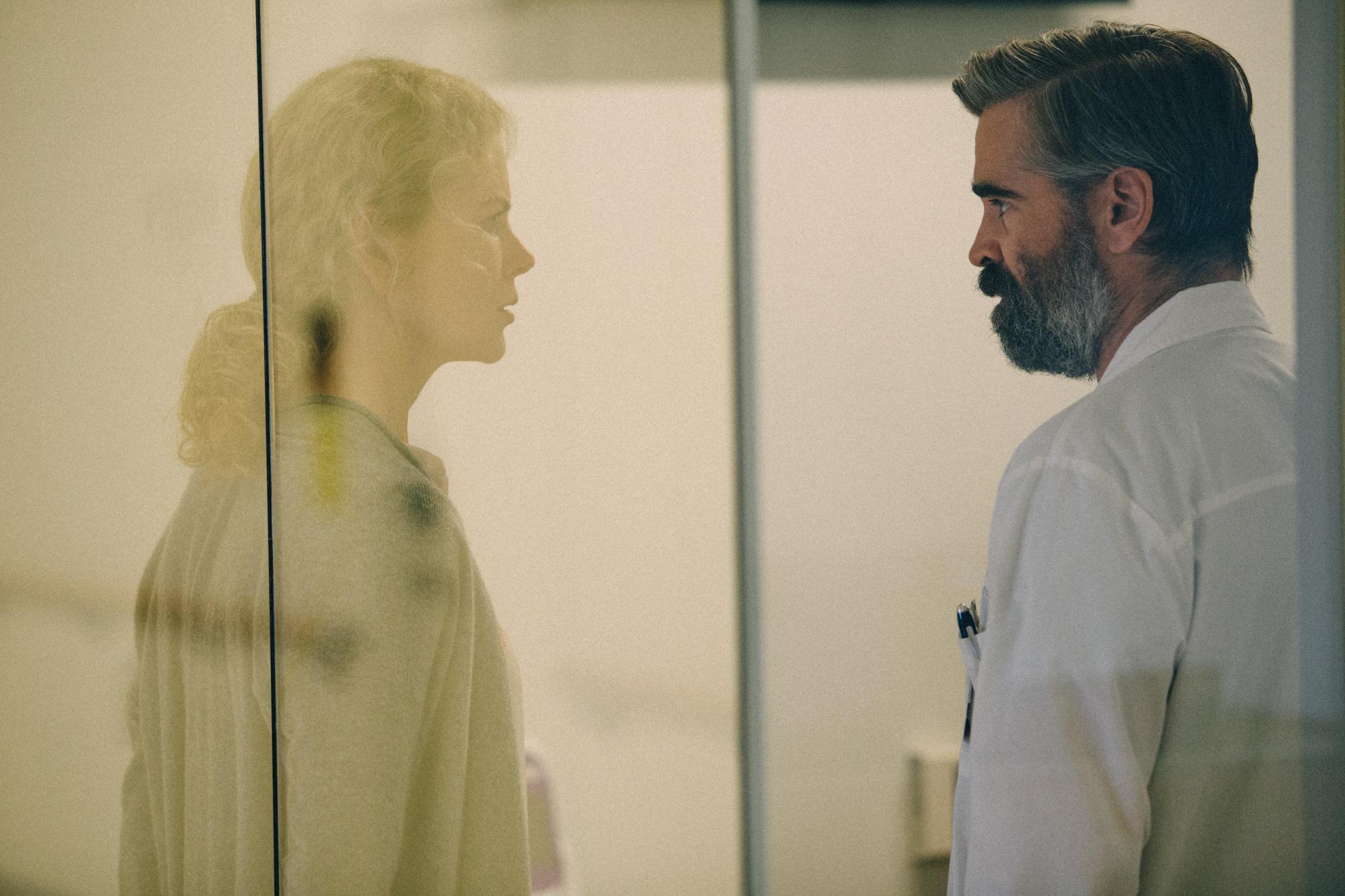 The Killing of a Sacred Deer: Colin Farrell e Nicole Kidman in una scena