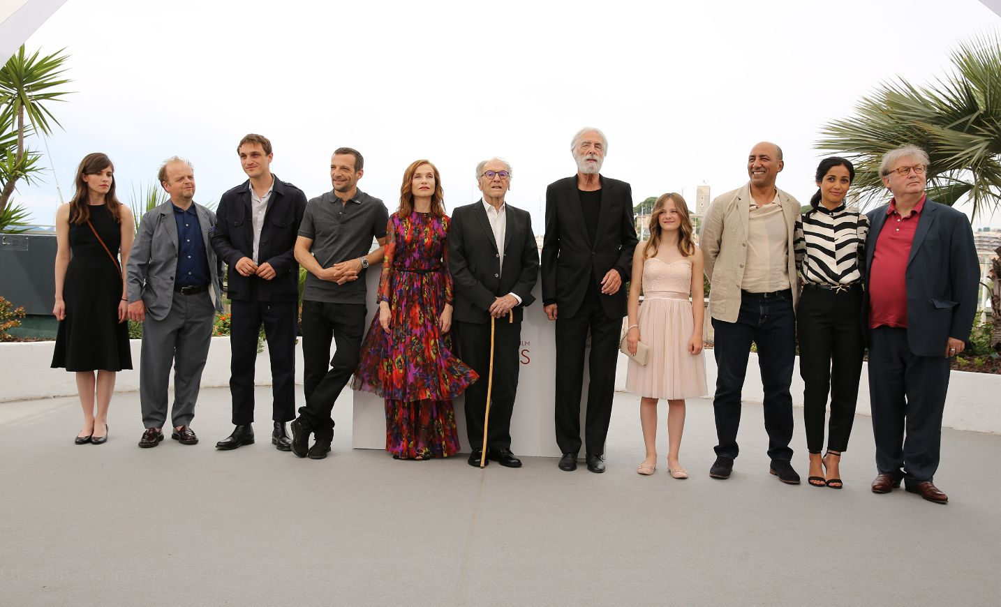 Cannes 2017: il cast di Happy End al completo